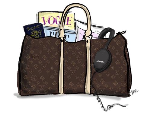 Louis vuitton purse clipart clip black and white Louis Vuitton duffel bag | Illustration | Fashion sketches ... clip black and white