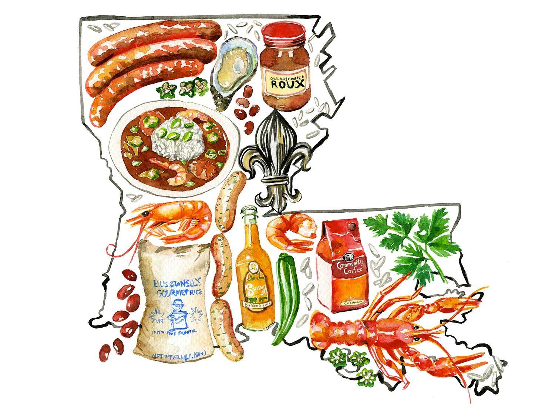 Louisiana bayou clipart jpg freeuse Missing Louisiana: 8 Ways I Bring the Bayou State Home ... jpg freeuse