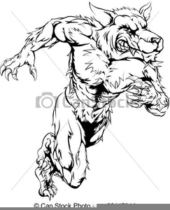 Loup clipart graphic royalty free download Clipart Loup Garou | Free Images at Clker.com - vector clip ... graphic royalty free download