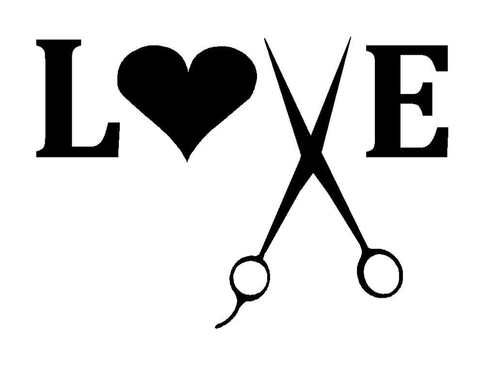 Love and beauty clipart clip art freeuse Hair salon love clipart - ClipartFest clip art freeuse
