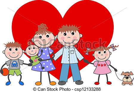 Love and family clipart clip free stock Family Love Clipart - Clipart Kid clip free stock