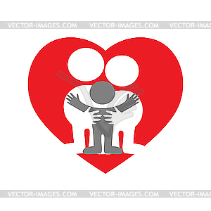 Love and family clipart svg royalty free Family Love Clipart - Clipart Kid svg royalty free