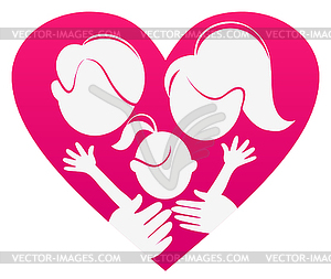 Love and family clipart picture library Family Love Clipart - Clipart Kid picture library