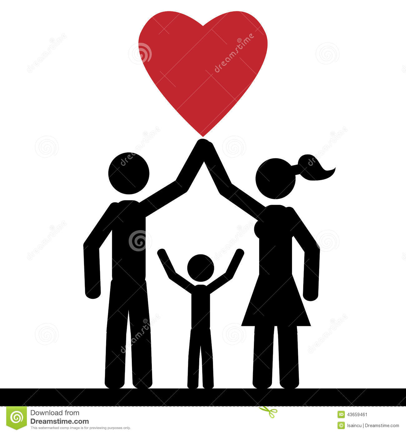 Love and family clipart image library download Family love clipart - ClipartFest image library download