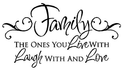 Love and family clipart jpg freeuse library live laugh love Silhouette Clip Art | Say Anything Expressions ... jpg freeuse library