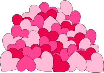 Love and hearts clipart clipart freeuse library Love Clip Art - Love Images clipart freeuse library