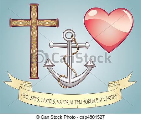 Love and hope clipart image black and white library Faith hope love Clipart and Stock Illustrations. 2,626 Faith hope ... image black and white library