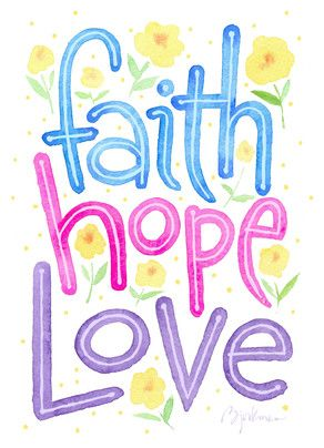 Love and hope clipart vector freeuse download Faith Hope Love - Greatest Easter Love Card designed by Steve ... vector freeuse download
