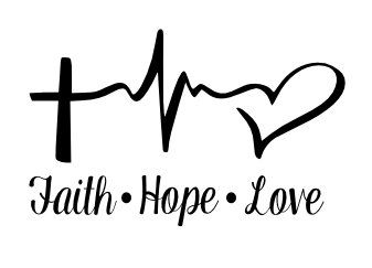 Love and hope clipart