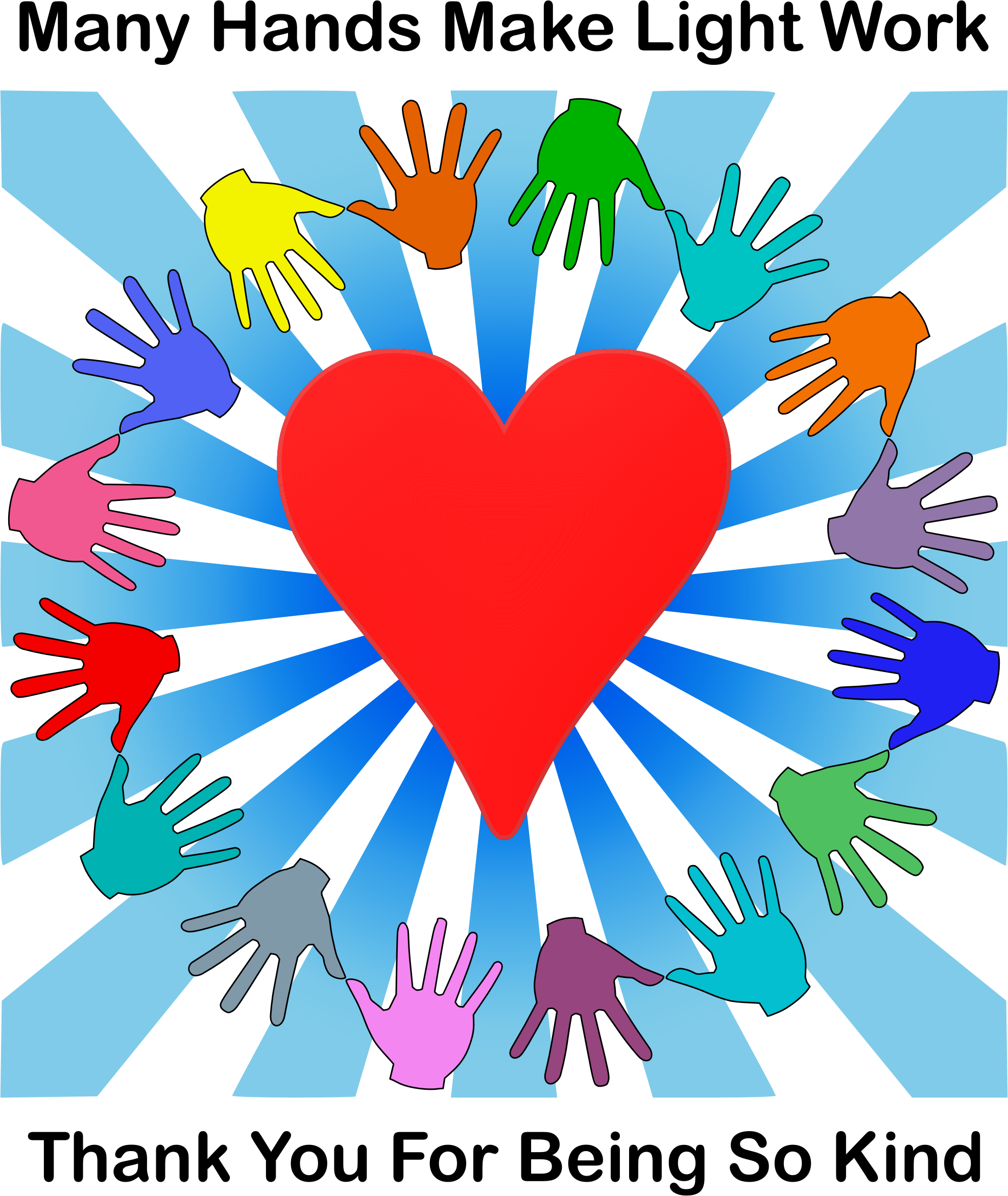 Love and kind clipart picture royalty free library Clipart - Kind Volunteers picture royalty free library