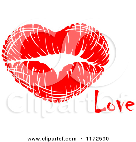 Love and kisses clipart svg library stock Royalty-Free (RF) Clipart of Kisses, Illustrations, Vector Graphics #2 svg library stock