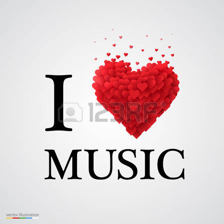 Love and music clipart picture royalty free stock 13,442 Love Of Music Stock Vector Illustration And Royalty Free ... picture royalty free stock