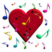 Love and music clipart image royalty free stock Love and music clipart - ClipartFest image royalty free stock