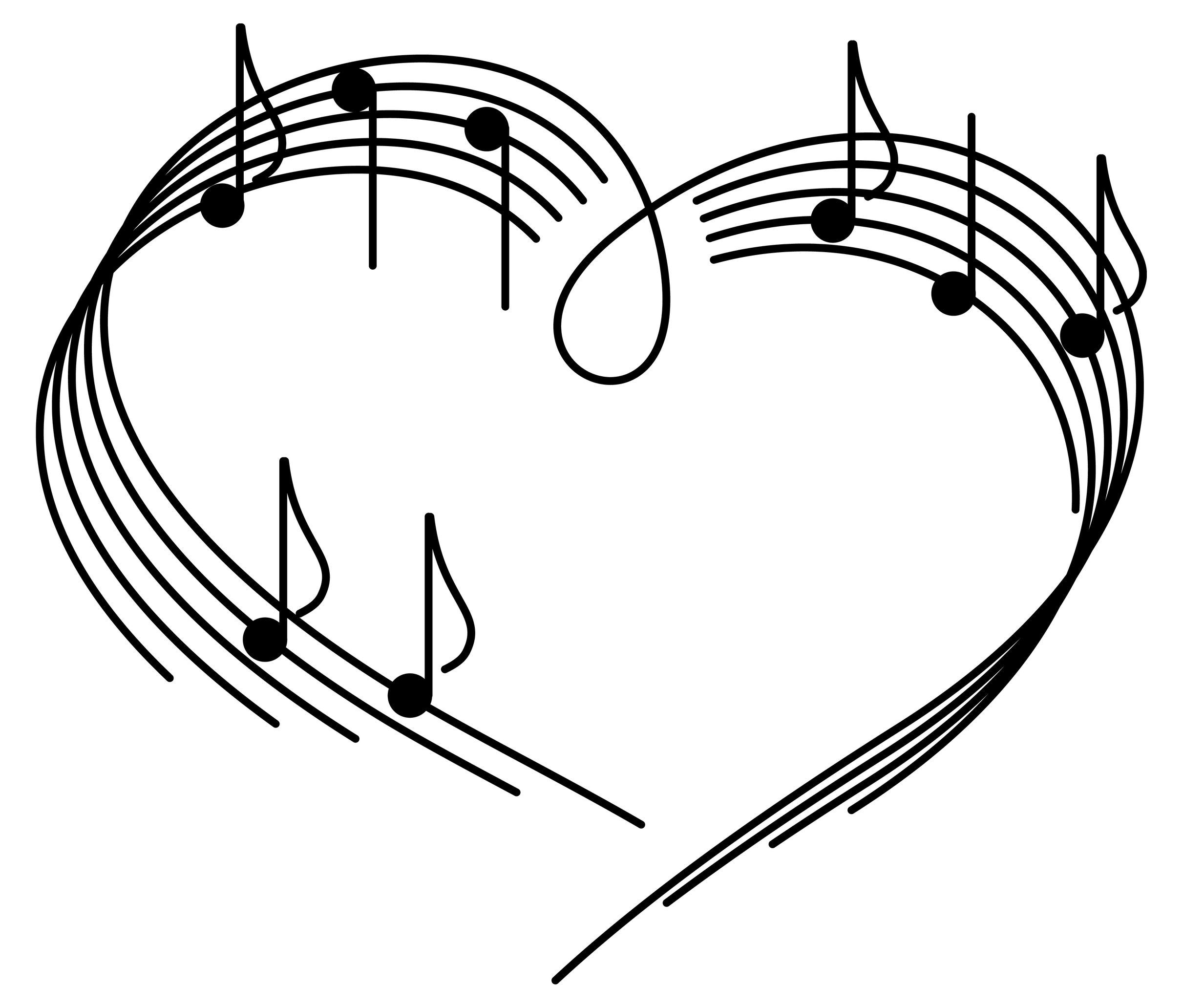 Love and music clipart image library library 17 Best images about signos musicales on Pinterest | Clip art ... image library library