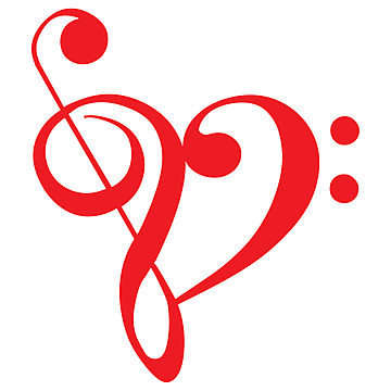 Love and music clipart picture free Small Heart Music Notes Clipart - Clipart Kid picture free
