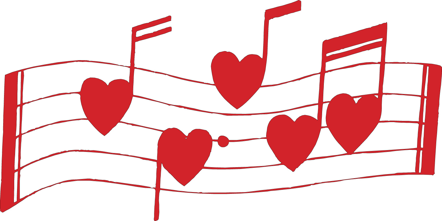 Love and music clipart banner black and white library 1000+ images about Love Music Notes on Pinterest | Valentines day ... banner black and white library