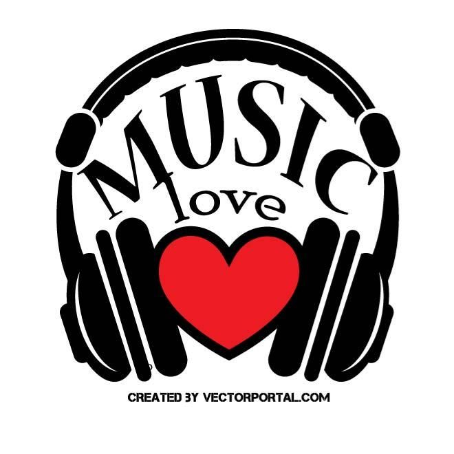 Love and music clipart png I love music clipart - ClipartFest png
