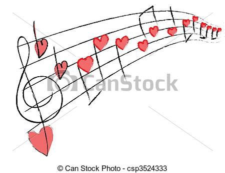 Love and music clipart image freeuse download Music Stock Illustrations. 253,850 Music clip art images and ... image freeuse download