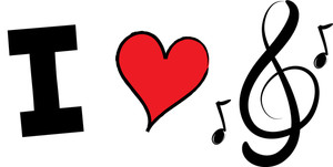 Love and music clipart vector freeuse 17 Best images about music clip art on Pinterest | Clip art, Music ... vector freeuse