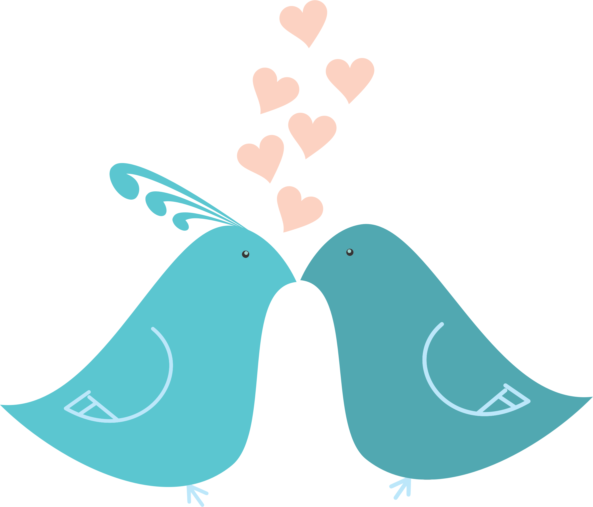 Love birds in a tree clipart clip transparent download 28+ Collection of Teal Love Birds Clipart | High quality, free ... clip transparent download