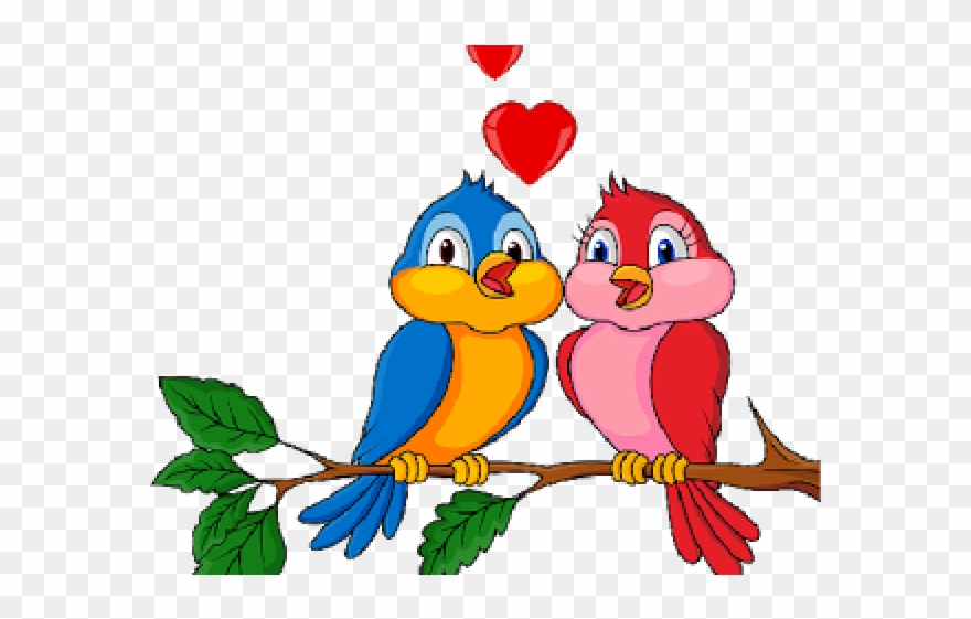 Love birds clipart graphic freeuse Love Birds Clipart Branch - Love Before And After Marriage ... graphic freeuse