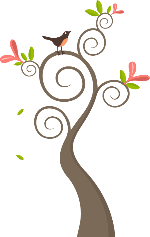 Love birds in a tree clipart svg Art and Science of Sound svg