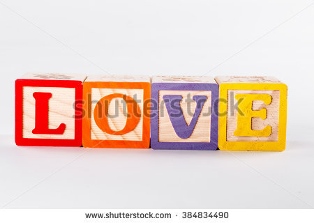 Love block word clipart picture black and white library Letter Blocks Stock Photos, Royalty-Free Images & Vectors ... picture black and white library