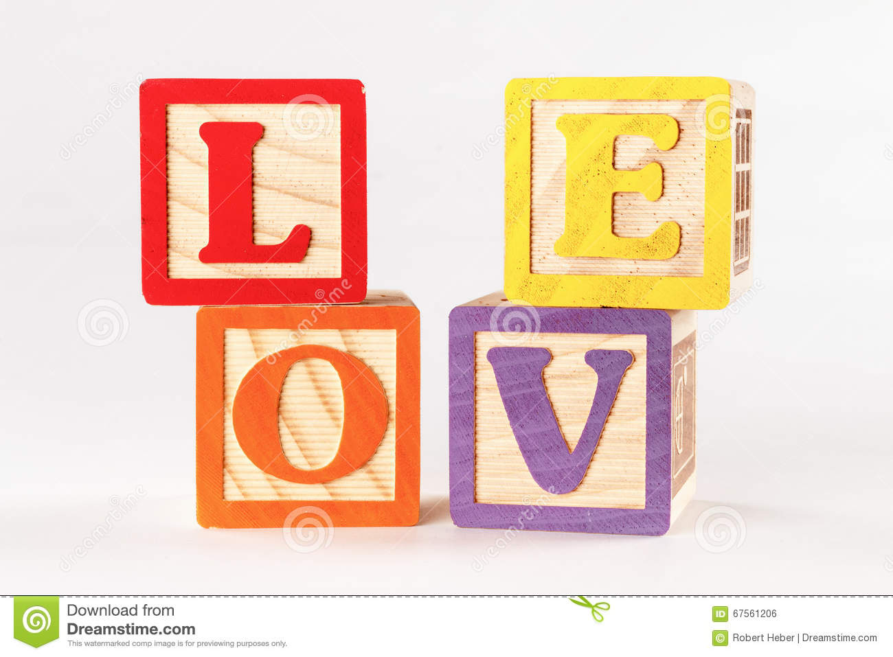 Love block word clipart banner royalty free library Mixed Up Love Blocks Stock Photo - Image: 67561206 banner royalty free library