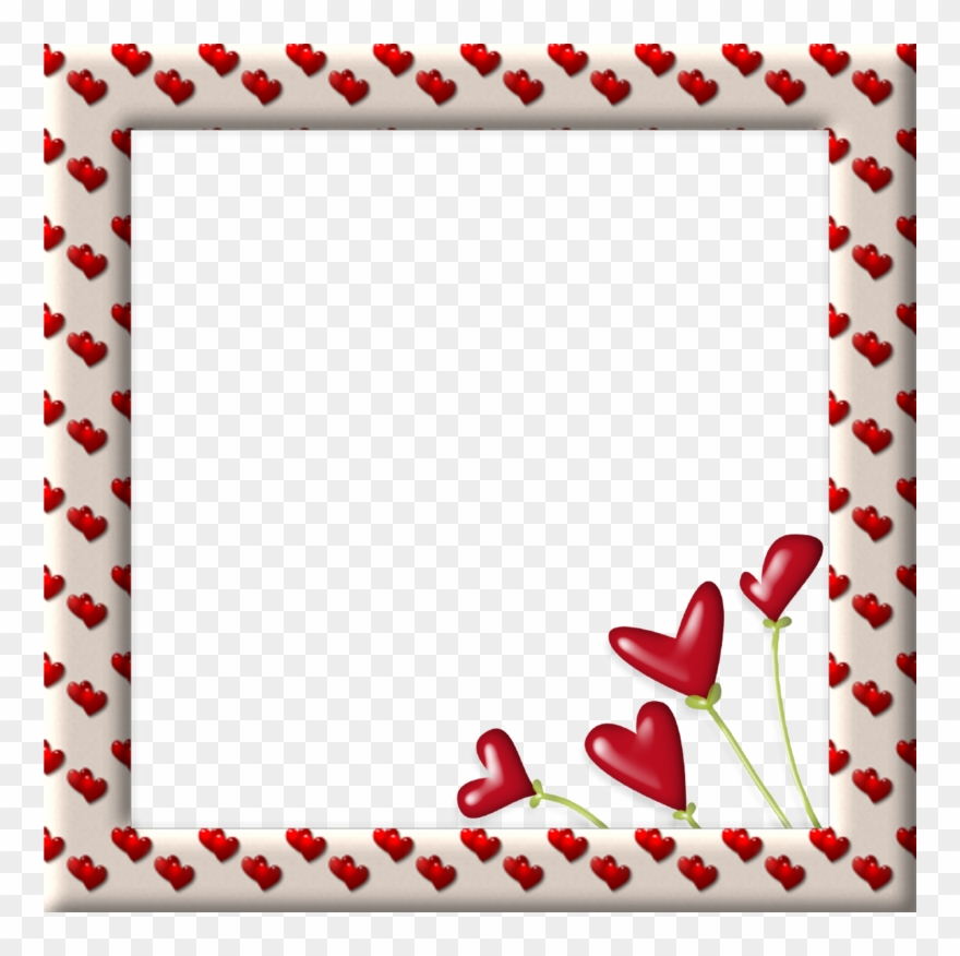 Love border clipart graphic royalty free library Hearts And Frames / Cuori E C - Border Love Frame Clipart ... graphic royalty free library