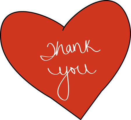 Love clipart clipart transparent library Thank You Clip Art - Thank You Images transparent library