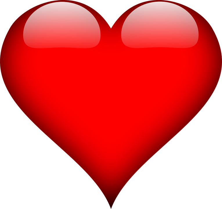 Love clipart clipart vector black and white library Heart - Free images on Pixabay vector black and white library