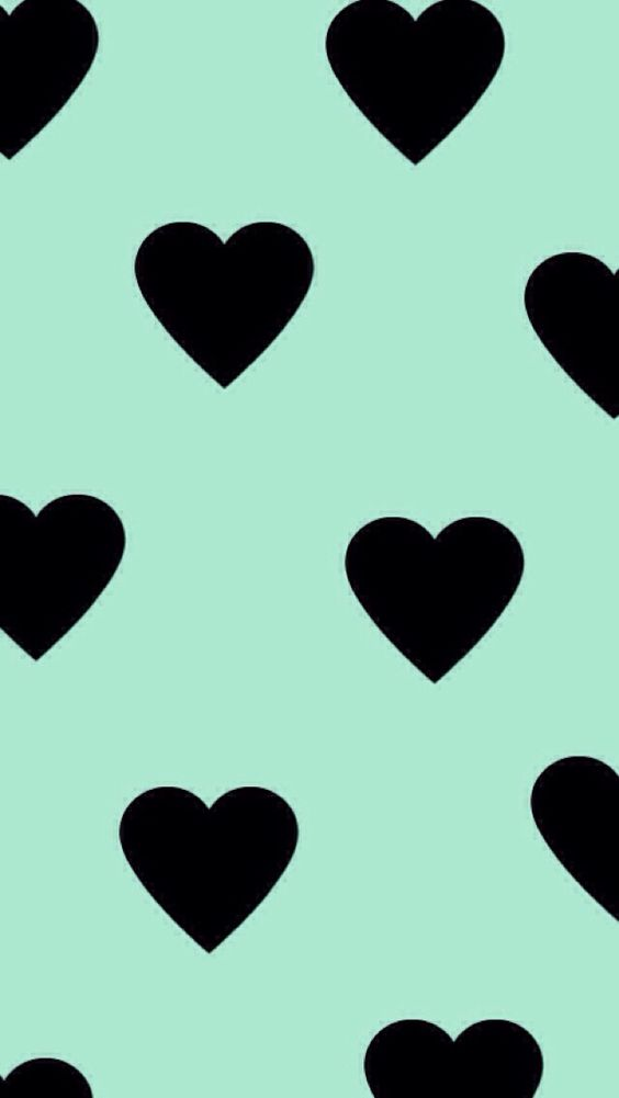 Love clipart mint gree picture freeuse library mint green pastel heart pattern | Epoxy Sticker Inspiration ... picture freeuse library
