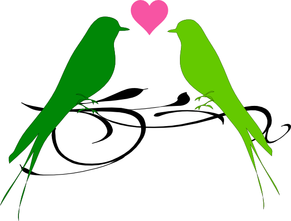 Love clipart mint gree image download Mint green love bird clipart - ClipartFest image download