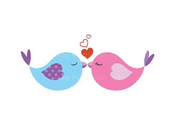 Love clipart mint green freeuse Mint green and silver love birds in a tree clipart - ClipartFest freeuse