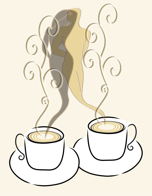 Love coffee clipart clip transparent stock Free Clipart: Love coffee | presquesage clip transparent stock