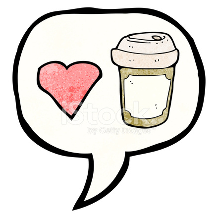Love coffee clipart png black and white download I Love Coffee Symbol Stock Vector - FreeImages.com png black and white download