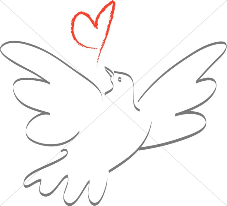 Love dove clipart png library stock A Dove In Love | Dove Clipart png library stock