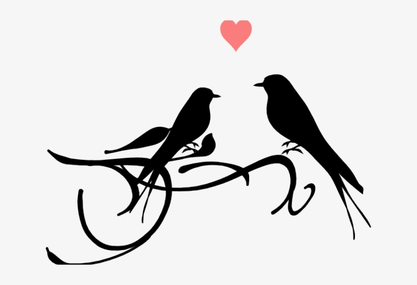 Love doves drawing clipart black and white clip royalty free stock Dove Clipart Black And White - Love Birds Black And White ... clip royalty free stock