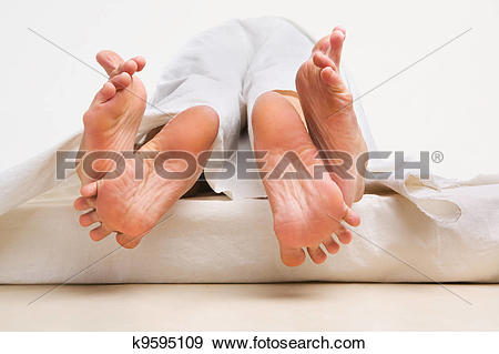 Love feet clipart jpg banner Stock Photograph of Feet of couple making love k9595109 - Search ... banner