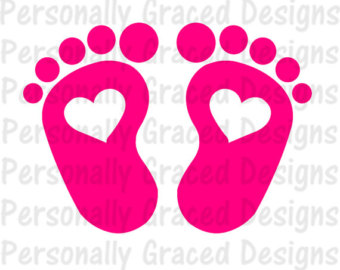 Love feet clipart jpg graphic Baby feet clipart | Etsy graphic