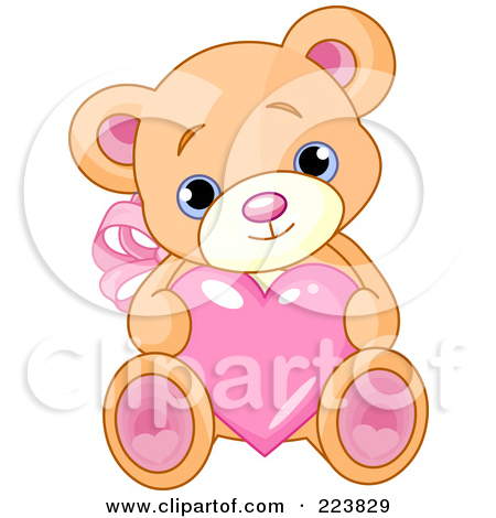 Love feet clipart jpg clipart library download Royalty-Free (RF) Teddy Valentine Clipart, Illustrations, Vector ... clipart library download