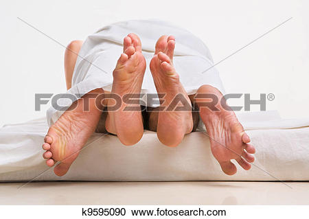 Love feet clipart jpg vector transparent Stock Photography of Feet of couple making love k9595090 - Search ... vector transparent