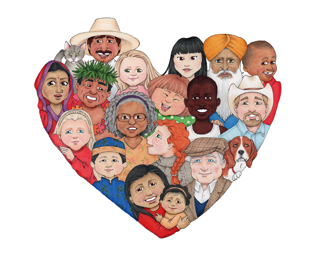 Love from us all png clipart svg royalty free Love from us all png clipart - ClipartFest svg royalty free