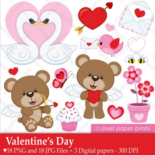 Love from us all png clipart clip free 17 Best ideas about Valentines Day Clipart on Pinterest | Cartoon ... clip free