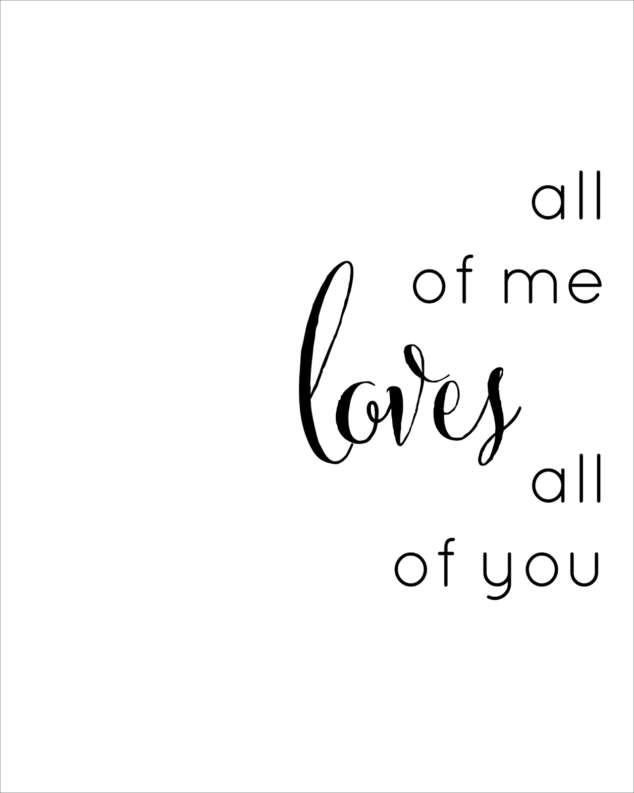 Love from us all png clipart clip black and white download All of Me Loves All of You Clip Art – Clipart Free Download clip black and white download