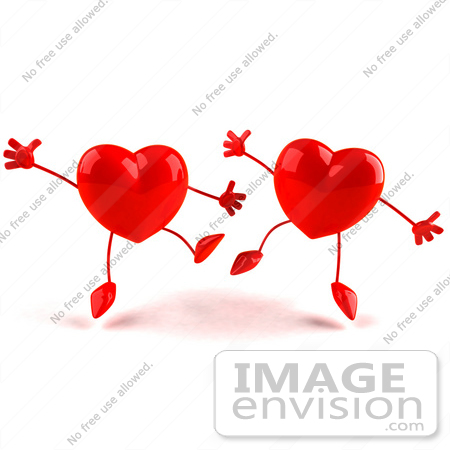 Love hearts happy clipart svg free download Royalty-Free (RF) Illustration of Two Happy 3d Red Love Heart ... svg free download