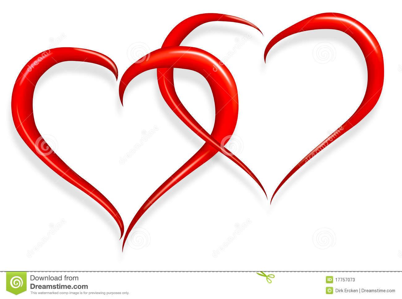 Love hearts happy clipart banner royalty free stock Love Heart Happy Valentines Day Stock Photos - Image: 17757073 banner royalty free stock