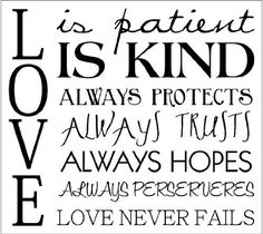 Love is kind clipart transparent stock Love is patient clipart - ClipartFest transparent stock
