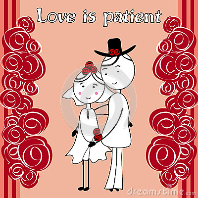 Love is kind clipart picture royalty free download Love Is Patient Love Is Kind Royalty Free Stock Image - Image ... picture royalty free download