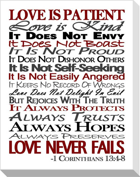 Love is kind clipart image freeuse stock PATIENT LOVE Quotes Like Success image freeuse stock